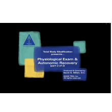 PA2 - Module 1 Part B: Physiologic Reset and Autonomic Recovery Part 2 - Online Training Course with Dr. Megan Choy
