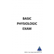 Memorization (Flash) Cards - Basic Physiological Exam